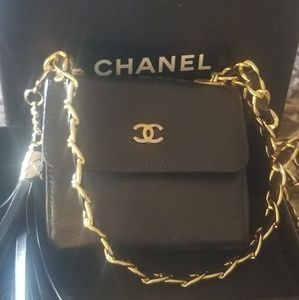 Chanel micro mini  size WOC revamped